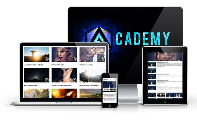 Online-Programme: MagickMale Academy