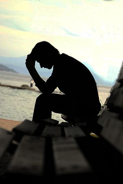 Die Einsamkeit überwältigt Dich